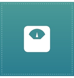Weighting apparatus icon vector