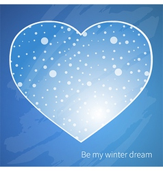 Winter dream vector