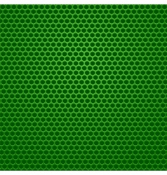 Perforated green background vector