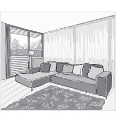 Drawing-room vector