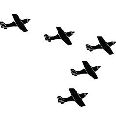 Arrow formation - vector