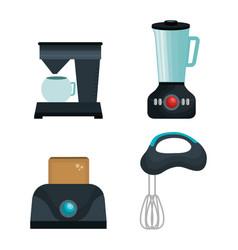 Home appliances tech icon vector