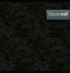Seamless texture of black vector