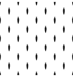Carrots pattern simple style vector