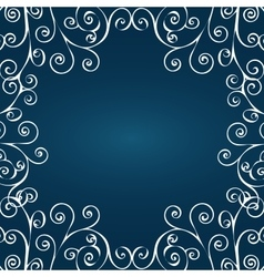 Abstract winter pattern vector