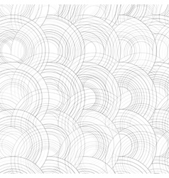 Abstract Drawn Colorful Circles Background vector image vector image