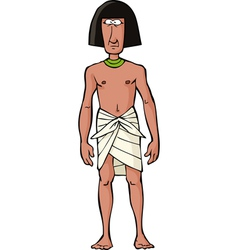 ancient egyptian slave vector image vector image