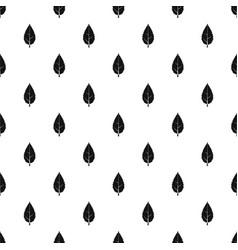 Hornbeam leaf pattern vector