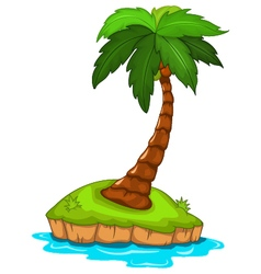 Palm tree for you design vector