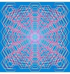 Polygonal3 vector image vector image