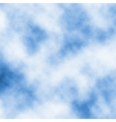 Drifting white clouds vector