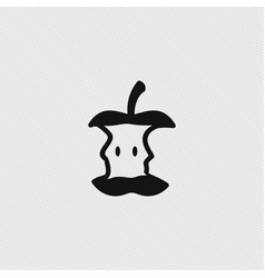 apple icon simple vector image