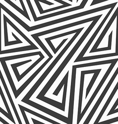 monochrome tribal seamless texture vector image vector image