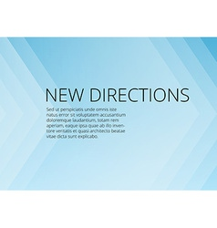 Abstract blue arrows background with copyspace vector