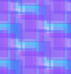 Abstract blue and lilac pattern from squares vector