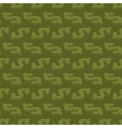 Seamless pattern with isometric dollar symbols vector image