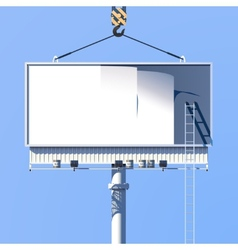Construction Billboard Poster vector image vector image
