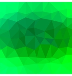 Mosaic green background vector