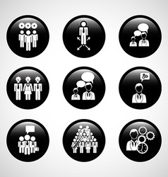 teamwork people vector image vector image