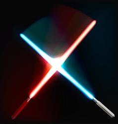 Light Saber vector image