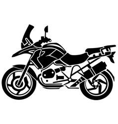 adventure moto climbing background eps 10 vector image