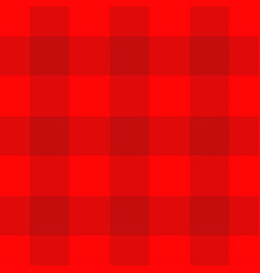 red checkered pattern tablecloth background plaid vector image