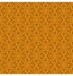 Seamless texture on orange element for design vector