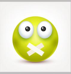 Smileyangrysademoticon green face with vector