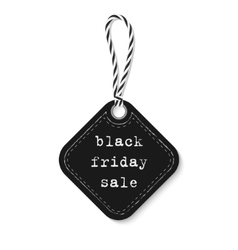 Black friday sale label vector