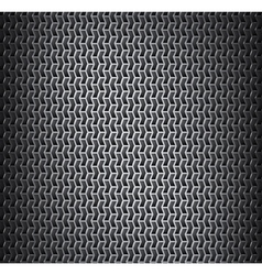 Background with metal grid vector