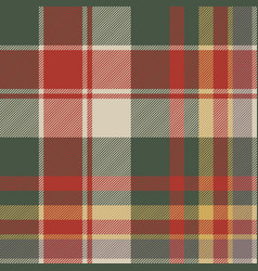 Classic check tartan diagonal seamless fabric vector