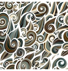 Camouflage military curlypattern background vector image