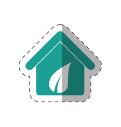 environment house clean design vector image
