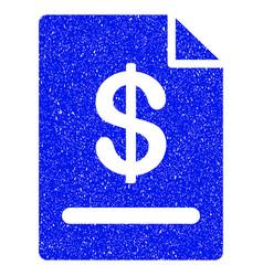 Invoice grunge icon vector