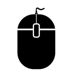 pc mouse vector image vector image