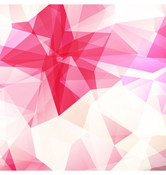 Pink crystal diamond texture abstract background vector