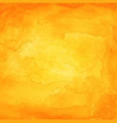 Orange watercolor macro texture background vector