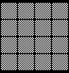 Creative black and white pattern background vector