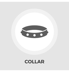 Collar Flat Icon vector image vector image