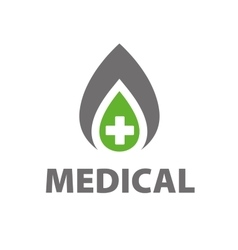 logo medical vector image