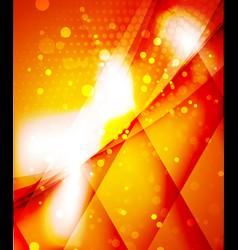 Shiny glittering light background vector