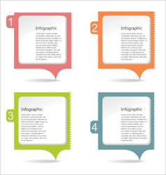 Paper message pad vector