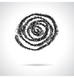 Swirl design element vector