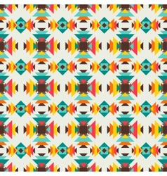 Ethnic seamless pattern in native style vector image