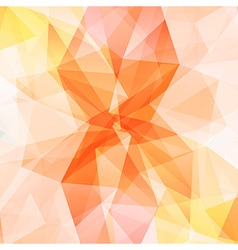 Orange crystal diamond texture abstract background vector