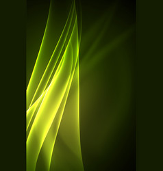 Polar lights concept background vector