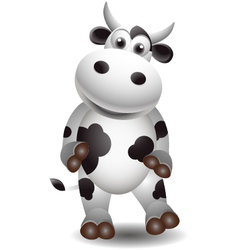 Cute cow vector