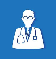 doctor icon vector image vector image