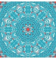 Seamless ornamental pattern geometric mandaLA vector image vector image