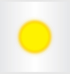 Sun sunshine background design vector